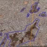 Ces tâches noires concernent des zones inondables de la Banlieue de Dakar : Diamagueune, Sicap Mbao, Guédiawaye, Pikine etc. . (Cliquer pour une vue plus large)